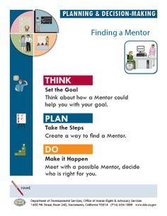 activities to do in mentoring pdf