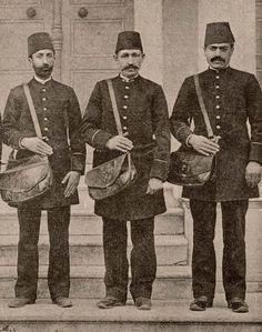 Ottoman Postmen, 1900s (Osmanlı Postacıları)