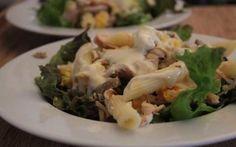 Salada de Frango com Molho de Mostarda