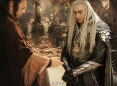 Thranduil and Elrond. Seeking the Artist.
