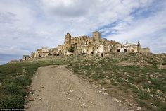 The medieval village of Craco, often described as the most beautiful abandoned city, was built so that its inhabitants could watch over the surrounding land