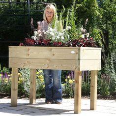 Gemüse und Kräuterhochbeet selber bauen - Designs und Alternativen