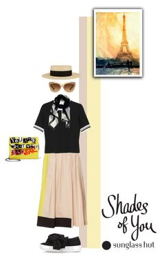 """Shades of You: Sunglass Hut Contest Entry"" by alynncameron ❤ liked on Polyvore featuring Sportmax, Monki, Eugenia Kim, Joshua's, Givenchy, Jimmy Choo, Coach and shadesofyou"