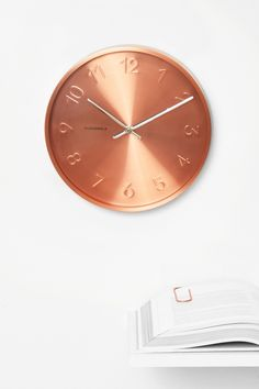 Trusty Copper Clock by Cloudnola | From Cloudnola.me