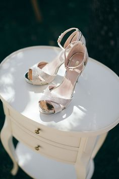Carvela Wedding Shoes   Image by Alban Pichon
