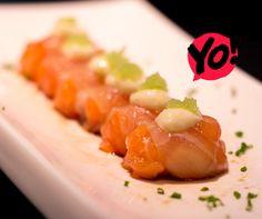 Shiromi Salmon - TokYo! Restaurante Café Londrina. #soutokyo #restaurante #japones #londrina #rodizio #japanese #food #chef #adriano #kanashiro #cooking