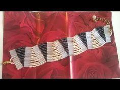 Seed Bead Jewelry, Bead Jewellery, Beaded Jewelry, Handmade Jewelry, Beaded Bracelets, Beading Projects, Beading Tutorials, Beading Patterns, Bugle Beads