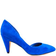 Heels I Love #heels #summer #high_heels #color #love #shoes Heaton - Cobalt Blue Suede  					Jessica Simpson