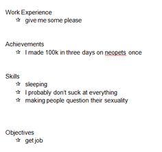 I need a job...hire me.
