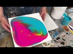 Acrylic Pour Painting: What Is A Dirty Pour? - YouTube