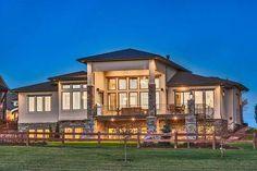 Plan 95033RW: Stylish Prairie Mountain Modern House Plan