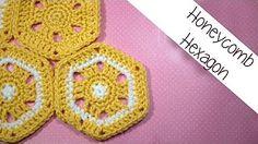 honeycomb hexagon tutorial and free pattern!
