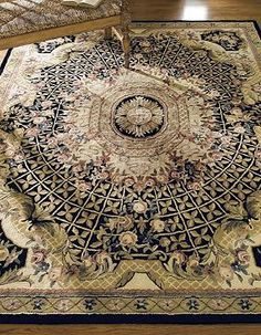 Enliven any room with the stunning and intricate motif of the Classic Gardens Wool Area Rugs; made from 100% pure virgin wool for durability and softness.