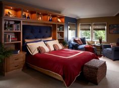 Teen Boy Bedroom Design, Pictures, Remodel, Decor and Ideas - page 3 Boys Room Design, Small Room Design, Bed Design, Teen Boy Rooms, Girls Bedroom, Teen Boys, Master Bedroom, Teenage Room, Guy Rooms