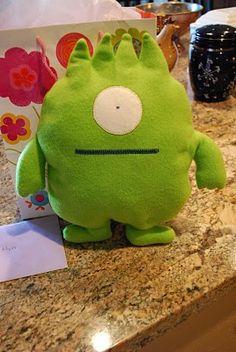Birthday Monster softie -- freestyle