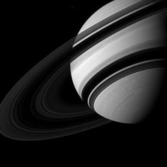 Cassini Solstice Mission: Dwarfed by Saturn. Credit: NASA/JPL-Caltech/Space Science Institute