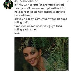And this is why thor and Loki are better together