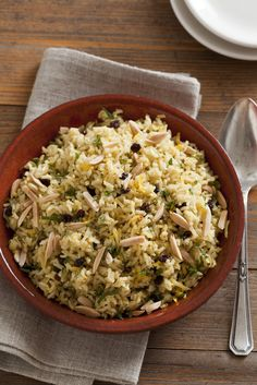 Loving this! Brown Basmati Rice Pilaf with Saffron and Ginger