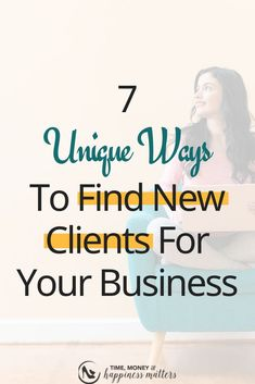 As an entrepreneur, you always want to be looking for new clients, even if you are busy. When you nurture and build relationships with your audience and target market, you make it easier for you to land and attract new clients. Here are 7 ways you can find clients either on social media, writing blog posts, etc. Click through to find out how you can find new clients. | client attraction tips | how to find clients on social media | business referrals | Business Entrepreneur, Business Marketing, Media Marketing, Online Marketing, Digital Marketing, Content Marketing Tools, Marketing Strategies, Etsy Business, Online Business