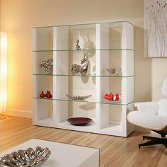 Pinterest the world s catalog of ideas - Glass shelf unit living room ...