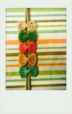 Ravelry: crochet bows by Adaiha Covington