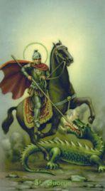 Dia de São Jorge, no dia 23 de abril.
