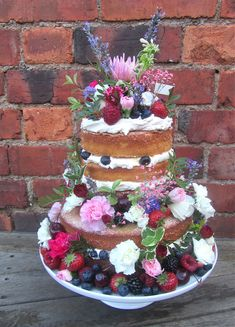 A lovely christening cake by GBBO contestant Frances Quinn