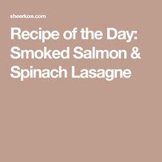 Salmon and prawn lasagne recipes
