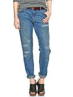 1969 destructed sexy boyfriend jeans from Gap