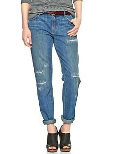 1969 destructed sexy boyfriend jeans | Gap - $69.95