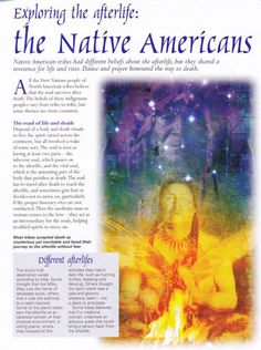 Mind, Body, Spirit Collection - Exploring The Afterlife The Native Americans