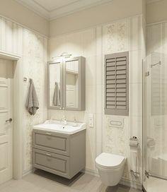 ДИЗАЙН ИНТЕРЬЕРА СПБ в Instagram: «Светлая, нежная ванная комната в стиле прованс с элементами скандинавского стиля. 👍 ⠀ Идеальное завершение нашего проекта…» Vanity, Bathroom, Design, Dressing Tables, Washroom, Powder Room, Vanity Set, Full Bath