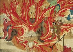 Exploring Japanese Hell Through Art from the 12th to 19th Century