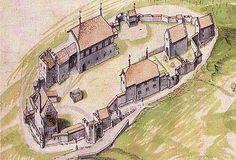 Merian Lenzburg 1642 - Schloss Lenzburg – Wikipedia