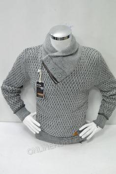 6cce1558da6156 Sweter Męski 0001 Overnexs Prod. Turecki (L-2XL)