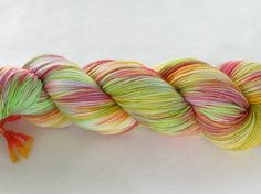 Hand Dyed Sock Yarn - Freddy Helix - Joanie