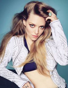 Amanda Seyfried for Elle June 2014