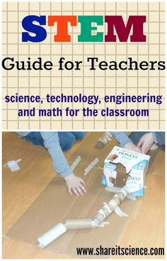 Share it! Science News : STEM Guide for Teachers. Are you a new teacher, or an experienced one who wants to do more STEM? This guide is for you! Classroom or homeschool!