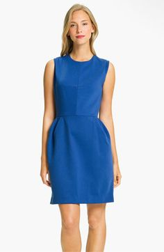 Donna Morgan Sleeveless Ponte Knit Tulip Dress available at #Nordstrom
