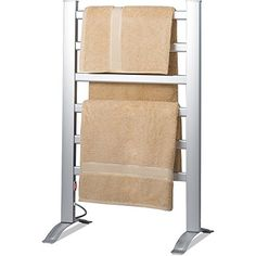 Knox Freestanding  Mountable Towel Warmer  Drying Rack  6 Bars  Aluminum Frame * Check this awesome product by going to the link at the image.
