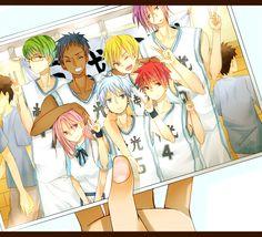 Teikou Middle School - Kuroko no Basuke - Image - Zerochan Anime Image Board Kuroko No Basket, Kise Ryouta, Kuroko Tetsuya, Anime Couples Manga, Anime Guys, Haikyuu, Kuroo, Picsart, Kiseki No Sedai