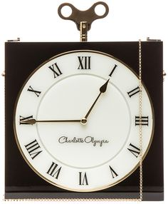 #CharlotteOlympia White Time Piece #Bag