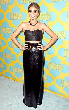 Sarah Hyland - Golden Globe Awards 2015, HBO afterparty / Emilio Pucci