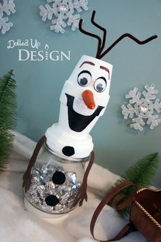 Do you want to build a snowman? Olaf Craft. ~momsandmunchkins