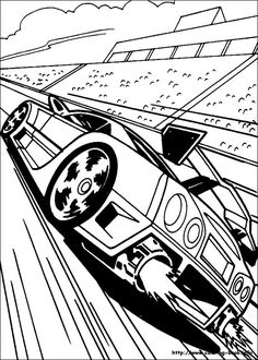 Kleurplaten Hot Wheels Battle Force 5.Hot Wheels Coloring Pages To Make Your Kids Day Colorful Coloring