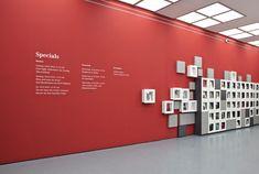 Visual identity and exhibition design for DIE GROSSE Kunstausstellung NRW 2013 in Düsseldorf, Germany.
