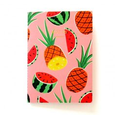 wrap Pineapples notebook by Ruby Taylor