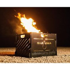 Small Blaze Cage Incinerator Portable Fire Pit 16