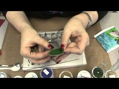 #76 New Elizabeth Crafts Dies, Silk Glitter & Sizzix Magnetic Platform by Scrapbooking Made Simple - YouTube