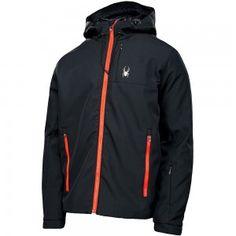 Spyder Grindel Softshell Jacket Herren Jacke schwarz rot #spyder #skibekleidung #outlet #sporthausmarquardt